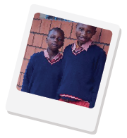 Your taps can help feed seven-year-old Lucy from Kenya
