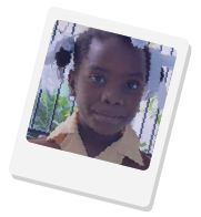 Donate to eight-year-old Chery from Haiti with contactless payment